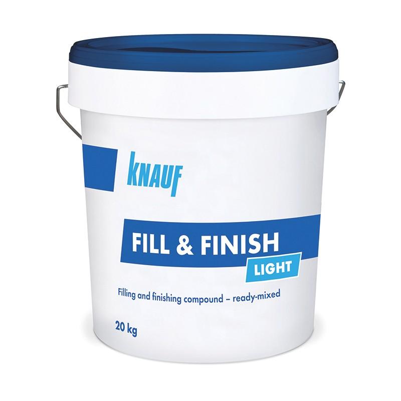 KNAUF vödrös glettek - Fill&Finish