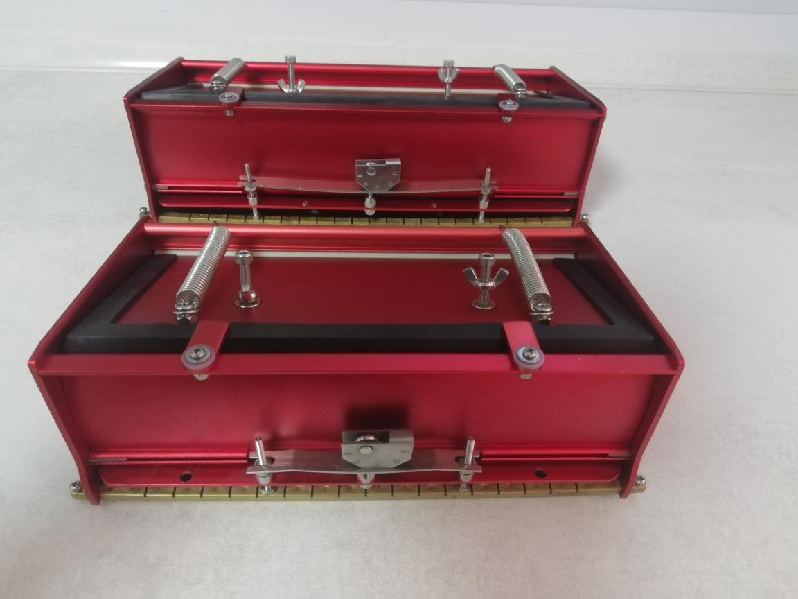Flat box glettelő doboz